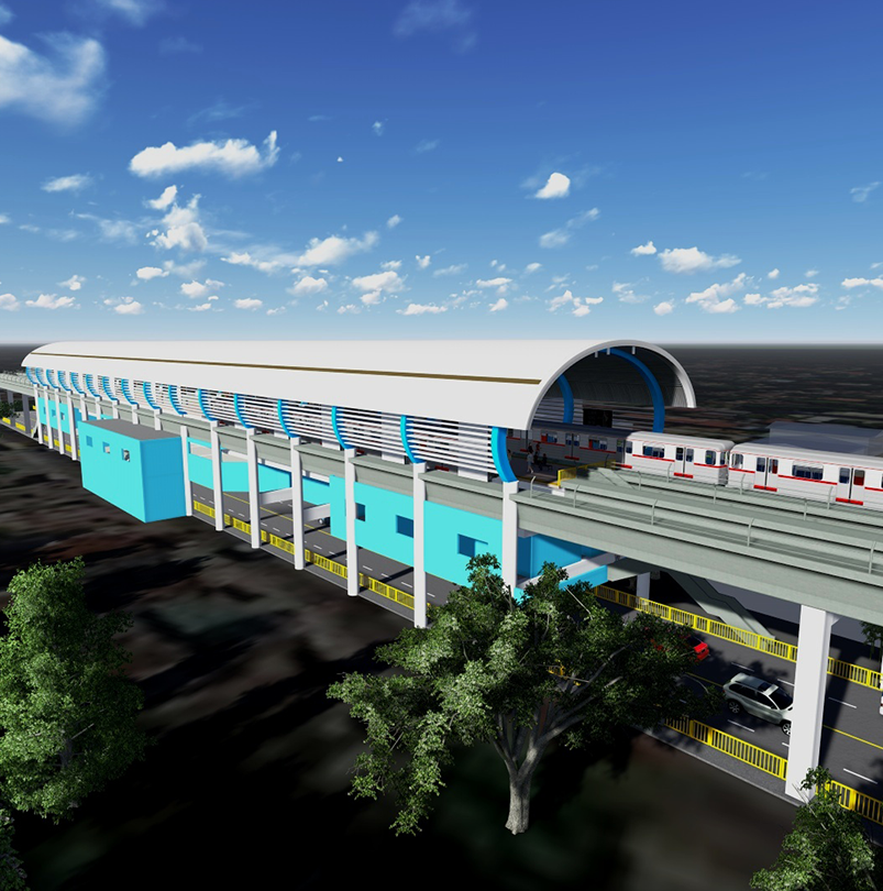 Engineering Services for Structural Design of Stations and Depot Structures for MRT-7 Project