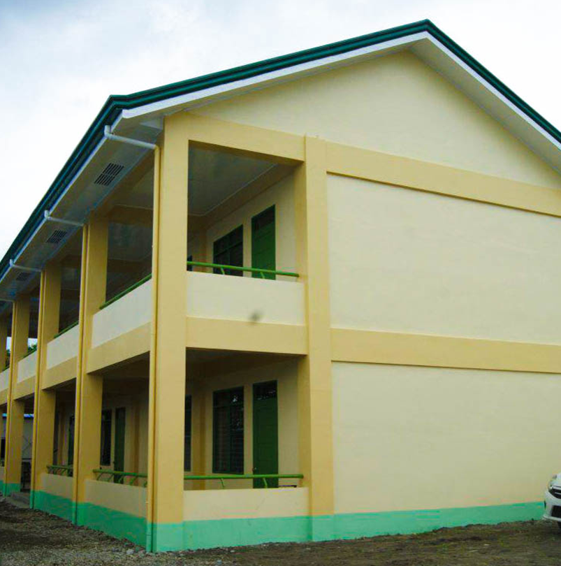 PRC/JRCS Reconstruction and Repair of Damaged School Facilities in Leyte