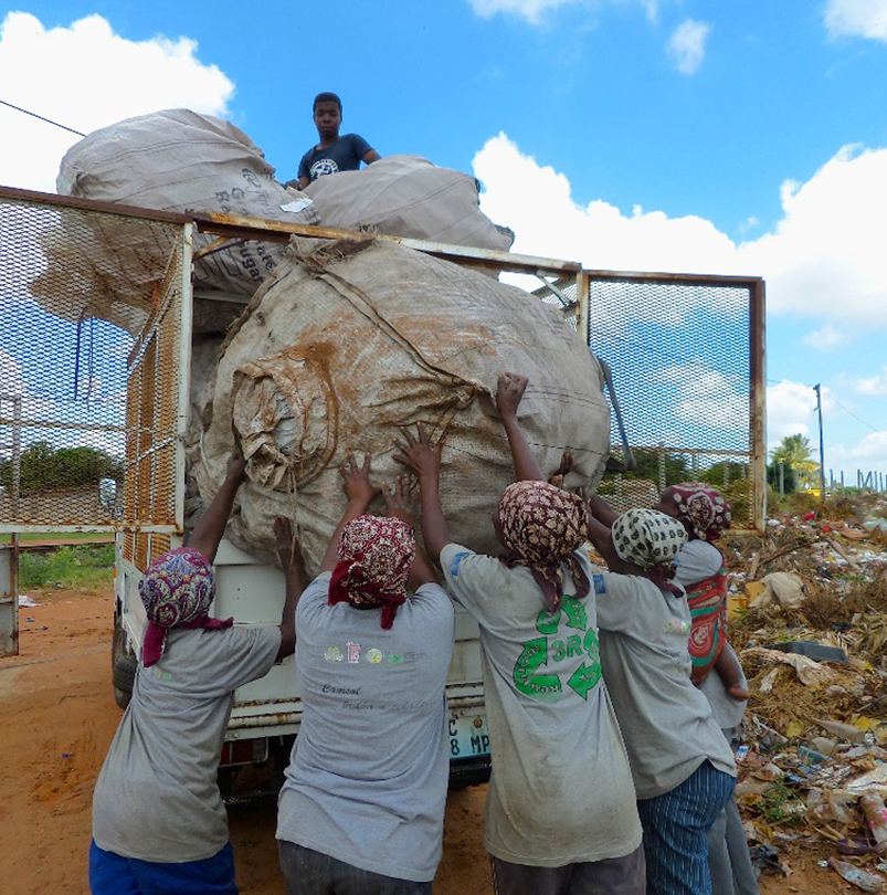 Project for Sustainable Waste Recycling Development in Maputo