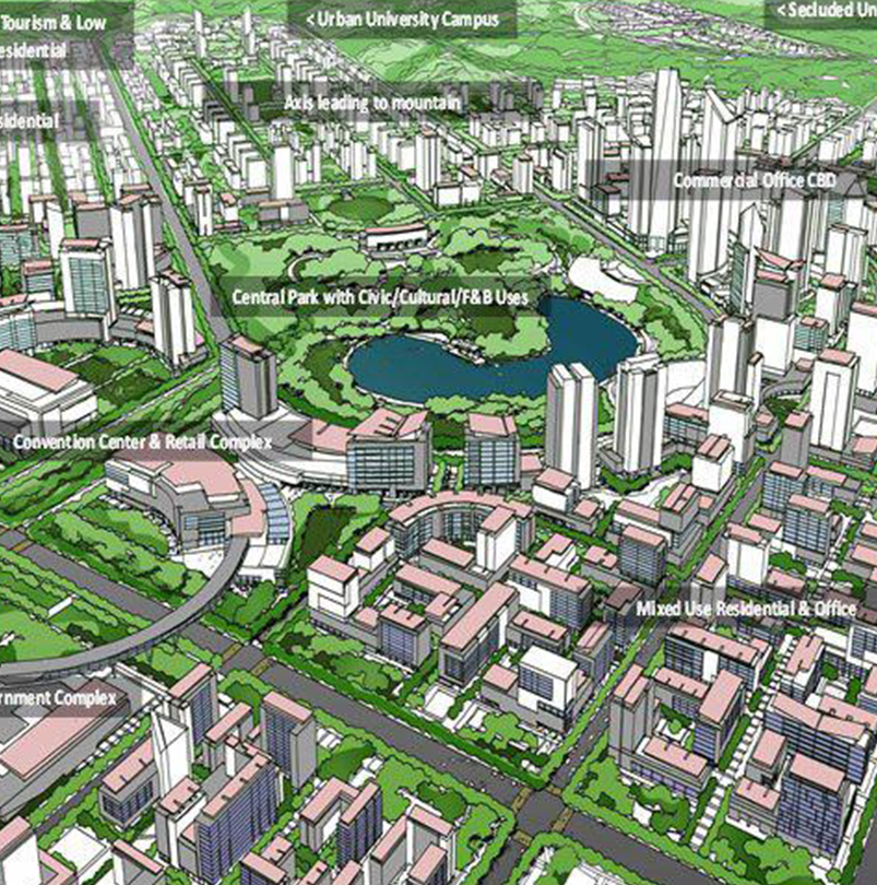Comprehensive Master Plan for the Clark Green City