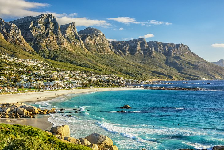 South Africa In Pictures Most Beautiful Places To Visit Camps Bay Beach